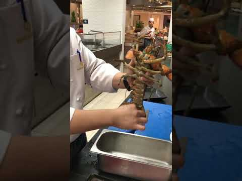 How to clean properly lobster before cooking