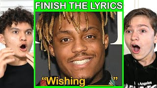 First To Finish The Lyrics Wins $1,000 (Rap Edition)