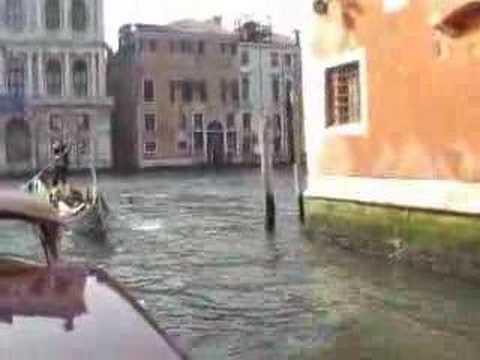 Venice Grand Canal to Rialto Bridge