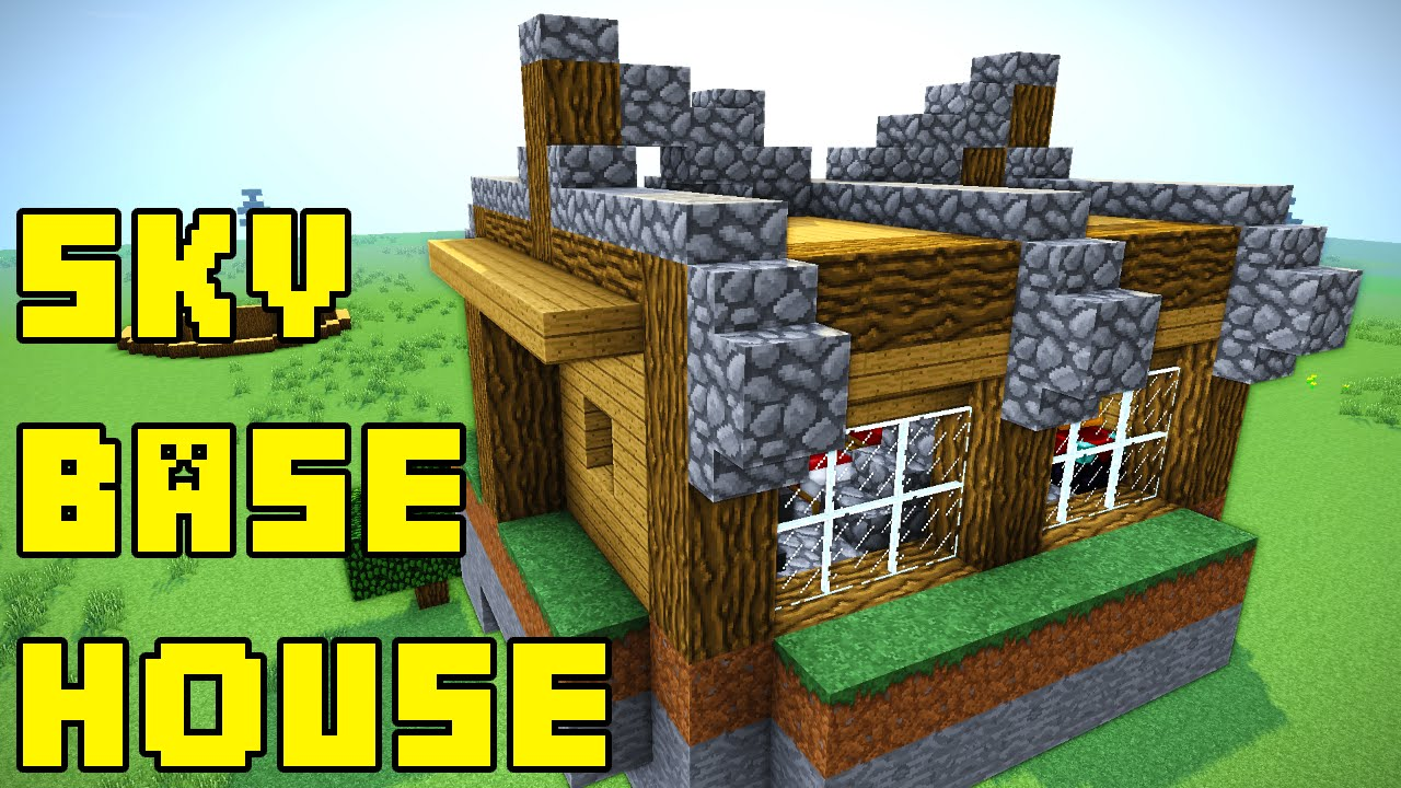 Minecraft Sky Base House Tutorial XboxPEPCPSPS YouTube - Minecraft hauser ps4