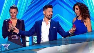 DARÍO PROXIMITY hace MAGIA y EDURNE le presta su voz | Audiciones 2 | Got Talent España 5 (2019)