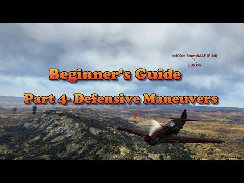 WT - Beginners Guide Part 4, Defensive Maneuvers