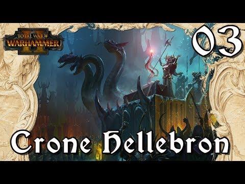 Total War: Warhammer 2- Crone Hellebron - ''The Black Pillar' [03] |