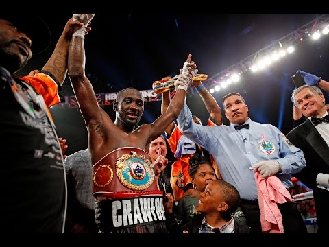 Crawford-Jean: Terence Crawford Ring Interview with Crystina Poncher