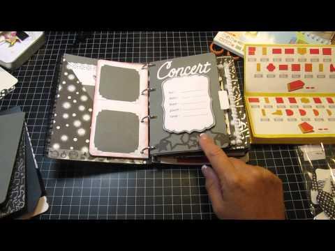 Mini Books Cricut Cartridge - 1st Mini Album