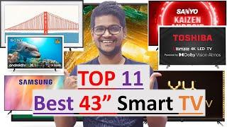 Top 11 - 43 inch Smart tv 2021…