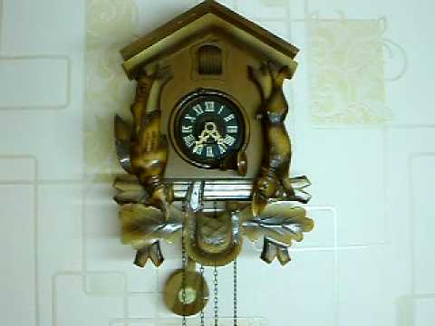 VINTAGE BLACK FOREST CUCKOO CLOCK IN GOOD WORKING ORDER On EBay