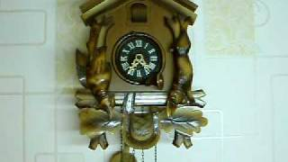Vintage Black Forest Cuckoo Clock In Good Working Order On Ebay