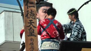 2013/10/12 佐原の大祭 2013秋祭り2日目の朝 香取街道へ山車14台が整...