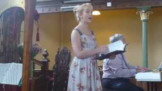 """Pur Di Cesti o Bocca Bella"",  Antonio Lotti, performed by classical young singer, Lucy Rees"