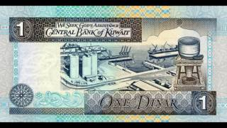 top 10 expensive currency of the world