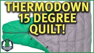 Thermodown 15 Degree Quilt | Paria Outdoor Products