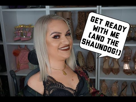 GRWM (and ShaunDog!) | Current Foundation/Face Routine | @tess.daly