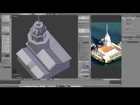 Maiden's Tower | Part 1 | 3D modelling | Blender