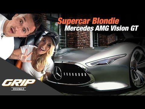 Supercar Blondie meets Mercedes AMG Vision GT | GRIP Originals