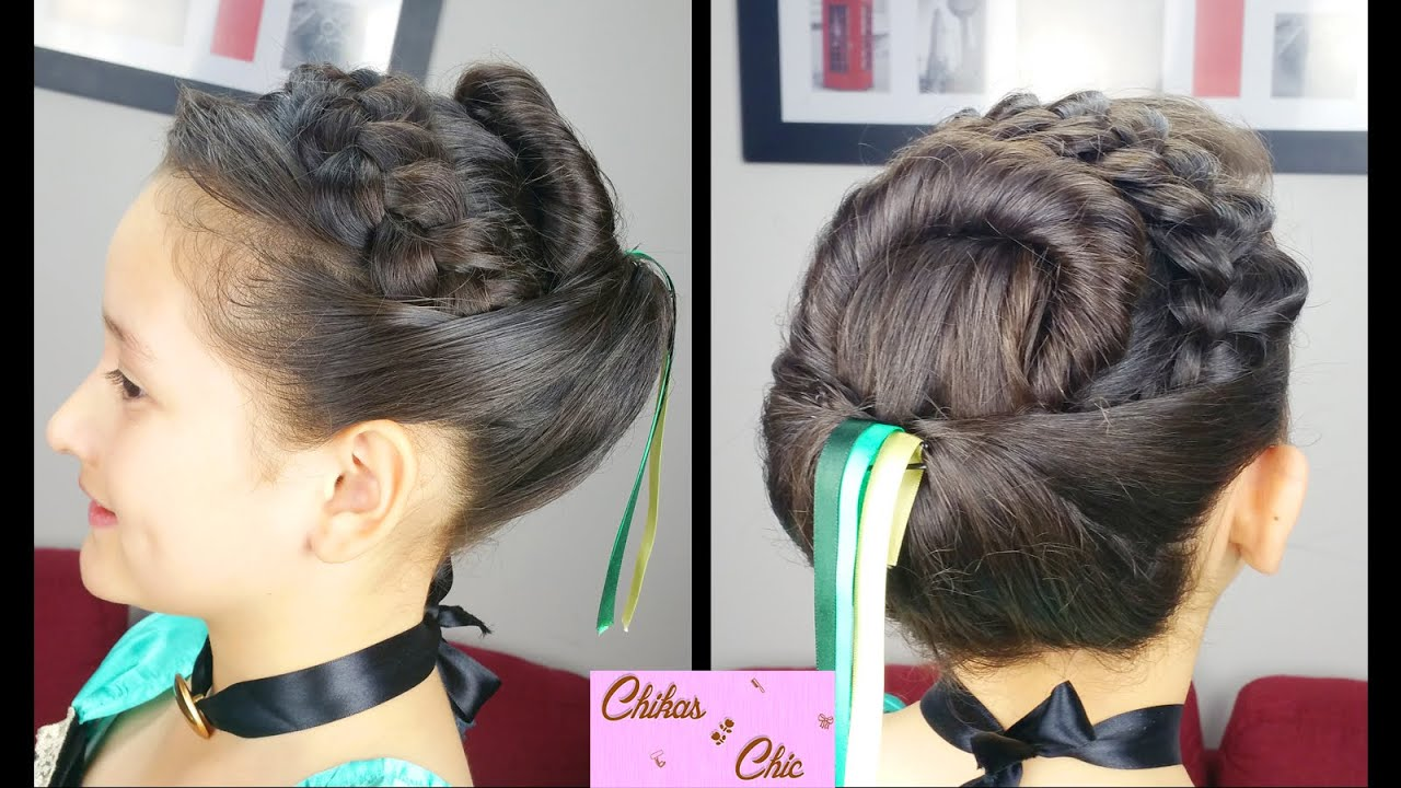Peinado Coronación Princesa Anna Sin Extensiones Disney