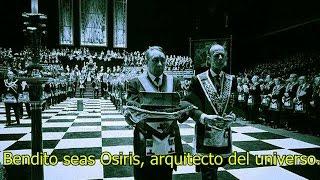 Grabacin en C mara Oculta de un Ritual ILLUMINATI VIDEO REAL