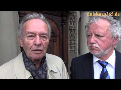 Horst Naumann & Peter Baasen zur Aktion - Rettet Die Saeule
