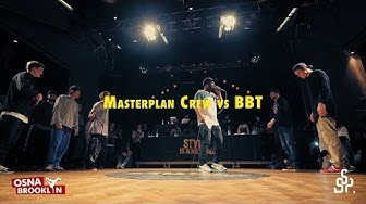 Masterplan Crew vs BBT | Crew Quarterfinal | Style is a Message 2015