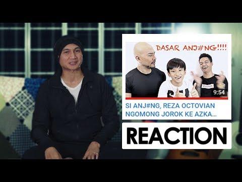 VIDEO BUAT REZA 'ARAP' OKTOVIAN. TENTANG ANJ#NG. | Reaction Video