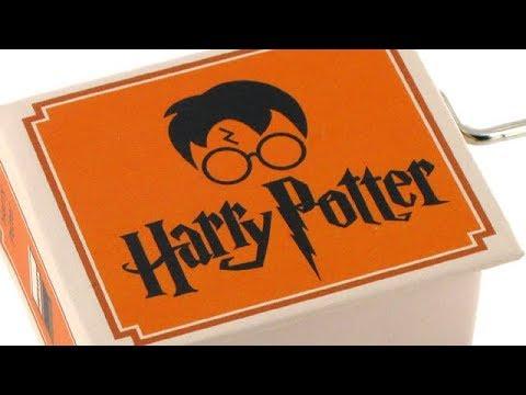 Des boîtes à musique Harry Potter avec