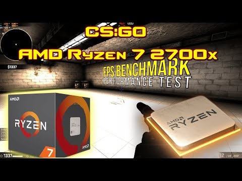 CS:GO AMD Ryzen 7 2700x benchmark | CS:GO FPS Benchmark on