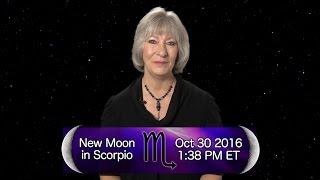 New Moon in Scorpio 2016