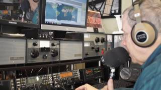 ham radio basics example of the art of the qso where there is an exchange of information