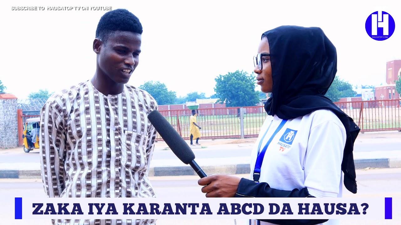 Download Zaka Iya karanta Mana ABCD Da Hausa? | Hausa Street Questions | HausaTop Online Tv
