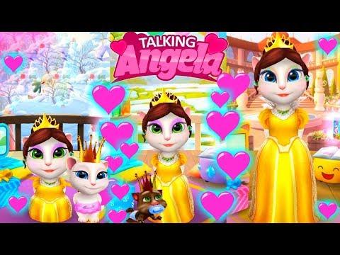 Говорящая АНДЖЕЛА Жила была Царевна   Серия 11   Веслые развивающие мультики для детей УШАСТИК КИД