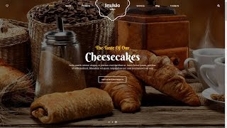 INVISIO Cakes, Sweet Bakery, Baker Wordpress Theme for Sweet food, Bake Making Course