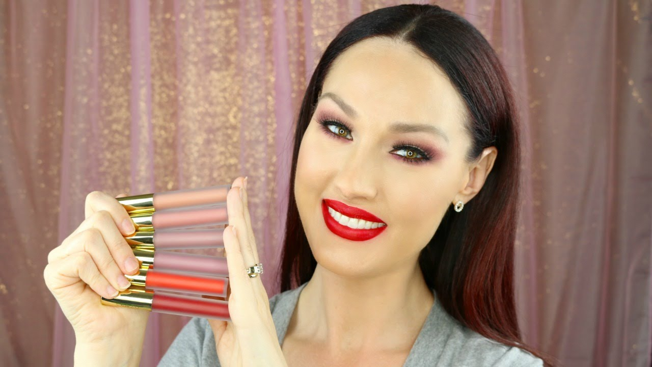 Gerard Cosmetics Hydra Matte Liquid Lipsticks | Lip Swatch ...