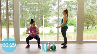12   HIIT Booty-licious with Tahnee and Sam