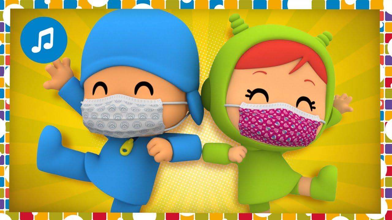 💙 CHOCAMOS LOS CODOS 💙 - ESPECIAL - CANCIONES INFANTILES POCOYÓ | Caricaturas y dibujos animados