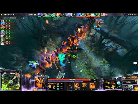 ACES Gaming vs Team Malaysia - Game 2 - MPGL - caster pew 30/11/2014