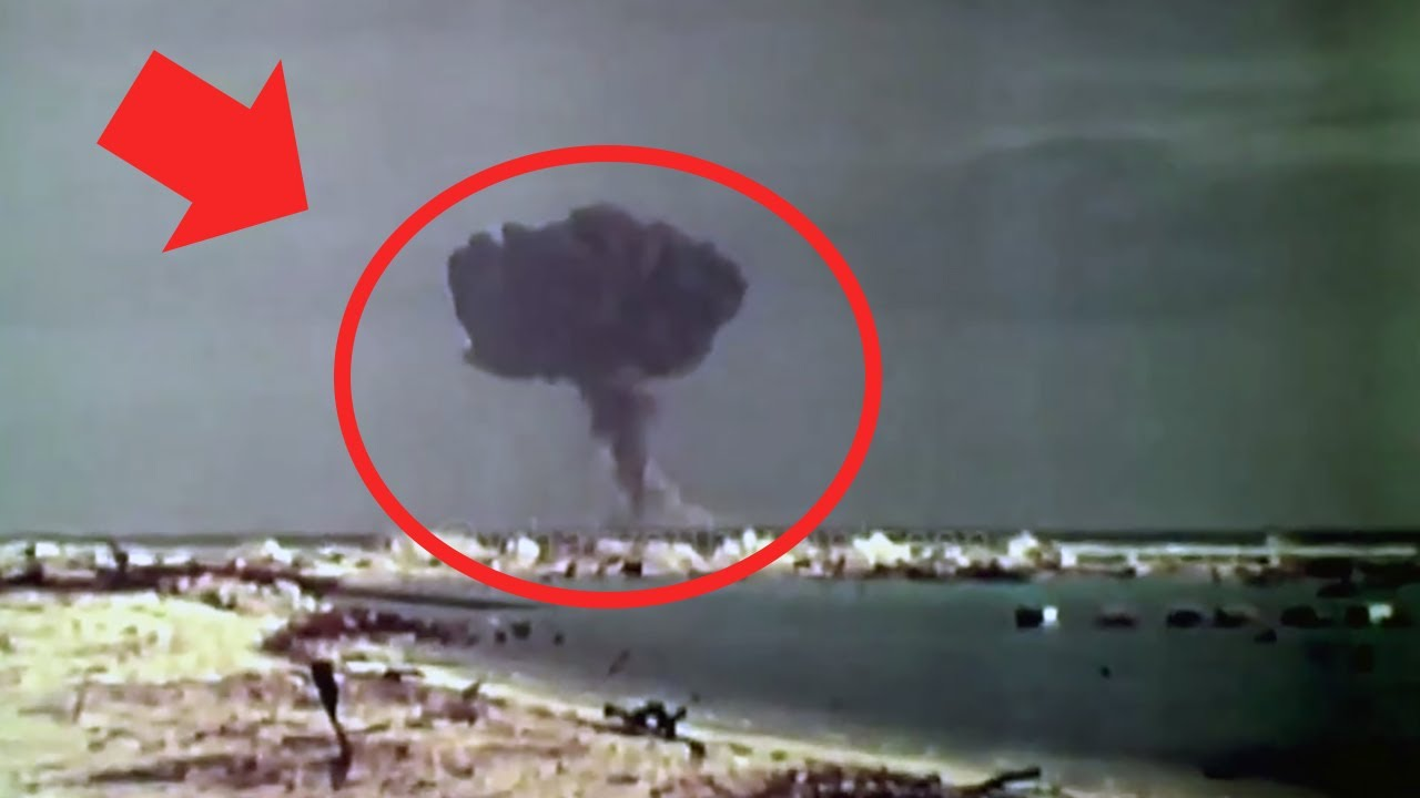 The Only Footage of a Nuclear Bomb Fizzle