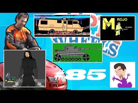 Happy Wheels #85 METRO W SKYRIM QUIZ IN MY PANTS! (Roj-Playing Games!)