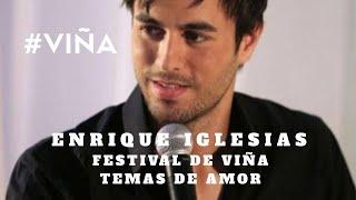 Enrique Iglesias - Nunca te olvidaré / GRANDES TEMAS DE AMOR FESTIVAL DE VIÑA DEL MAR 60 AÑOS #VIÑA