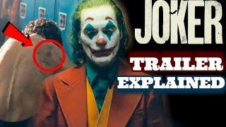 Joker Trailer EXPLAINED