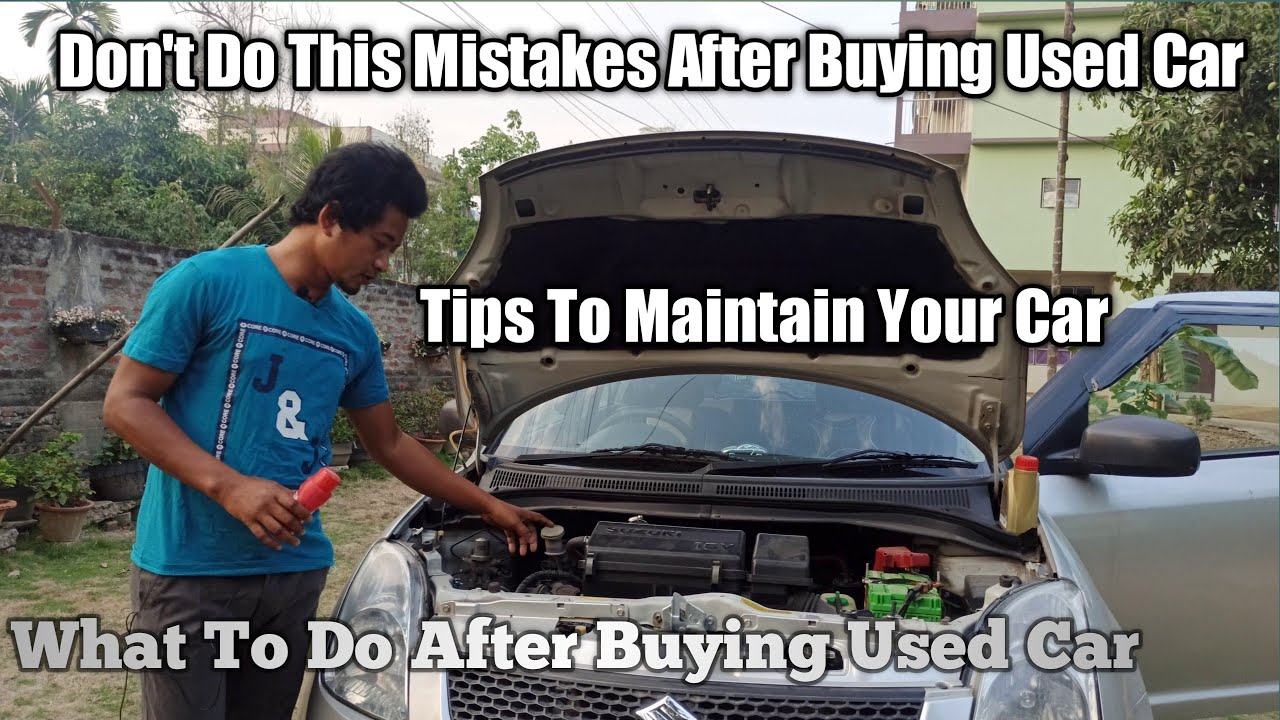 Don't Do Mistakes After Buying Used Car's | Watch This Video To Make Your Car Reliable/Care Your Car
