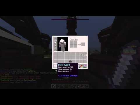 Minecraft- Annihilation #1 (Timelapse)