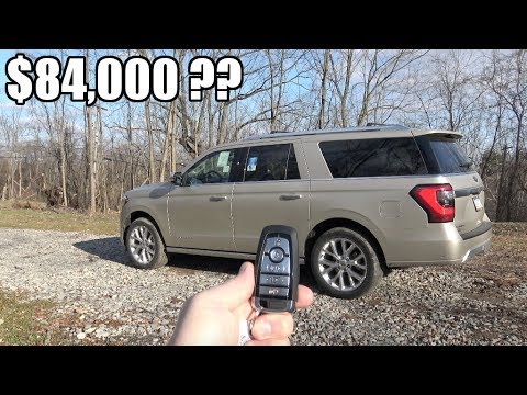 $84,000 for a Ford? 2018 Ford Expedition PLATINUM Review I 400HP 2nd Gen Ecoboost V6
