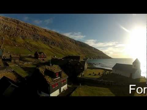 Art of flying Kirkjubøur DJI Phantom UFO over the lonely island ( Faroe Islands ) 005