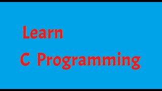 #3: C Programming: Introduction to C.