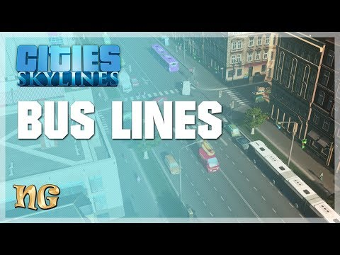 Cities: Skylines - How to optimize your bus line (2018)