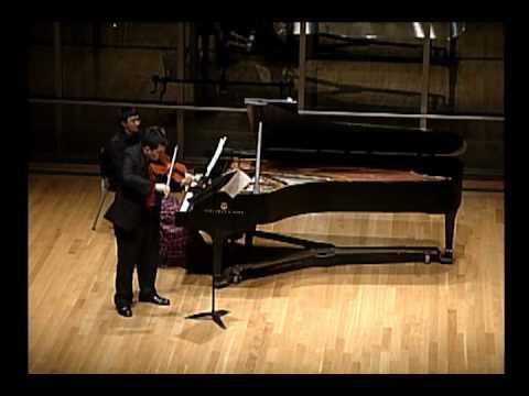 Bartok Sonata no. 1 for violin and piano, III. Allegro molto part 2