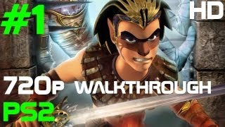 REAL 720p HD PS2 Sphinx and The Cursed Mummy Walkthrough Part 1 - THE ZELDA for PS2