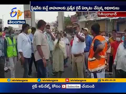 GHMC Mayor Rammohan Observes   Road Widening Works at Secunderabad Railway Station