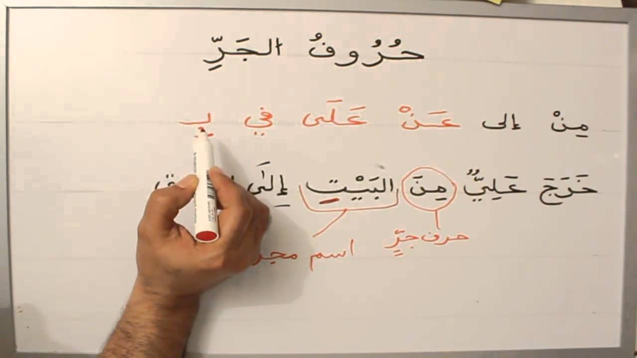 L'Arabe de A à Z-Hourouf Aljarr #32 - YouTube