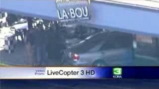 Elderly Woman Crashes Car Into La Bou